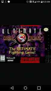 Looking for super street fighter 2 or ultimate MK 3 for SNES Cornwall Ontario image 2