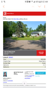 House for sale on 5 acres