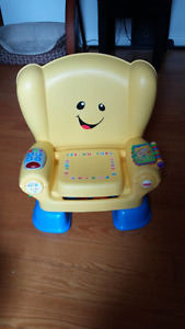 Fisher Price Toddler musical chair - French