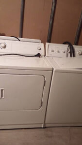 washer and dryer large capacity  works Great ,, Quiet wash type