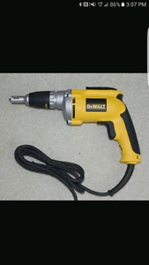 Drywall gun and planer