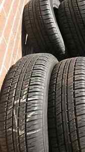 (4) 195 65 15 tires forsale 85% tread