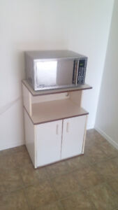 Danby microwave with trolley