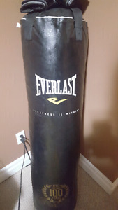 Moving Sale!! Boxing Bag with Gloves!!! Pls Text Only.