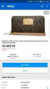 Michael Kors AUTHENTIC wristlet wallet