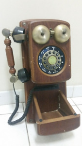 retro wall phone nexxtech-working   condition