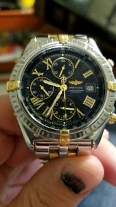Breitling Crosswind two-tone