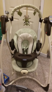 Graco duo 2 in 1 swing/bouncer