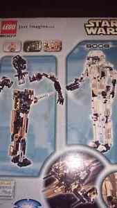 Star Wars Lego 8007&8008