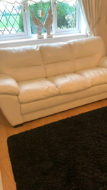 full set of sofas and foot stool