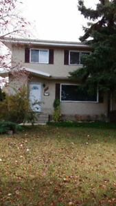 Available immediately:  Duplex close to Southgate LRT