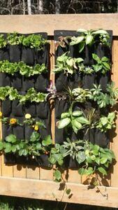 10 Vertical Organic Grow Bags