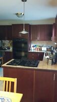 Kitchen Appliances, Cabinets and Counter for Sale As Is