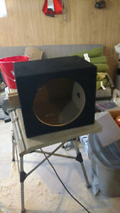 12 inch enclosed subwoofer box
