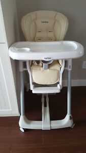 Peg perego high chair new condition