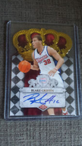 NBA BASKETBALL BLAKE GRIFFIN CROWN ROYALE ROOKIE AUTO 397/399