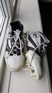 Warrior Burn 2nd Degree Lacrosse Cleats Sz. 8