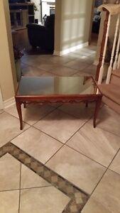Mirror-top coffee table