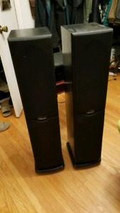 Pair of Polk Audio Standing Speakers