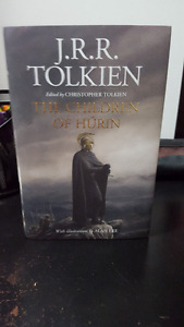 Tolkien: Lord of the Rings - New Book - Children of Hurin RARE!