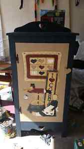 Hand painted jelly cupboard