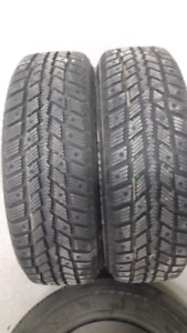 2 new Weathermaxx studdable Arctic Winter tires on rims