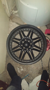17 inch mags black