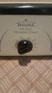 RIVAL Electric Turkey Roaster or warming server