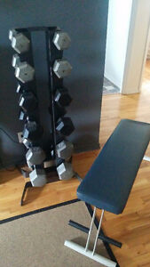Hex weights and bench