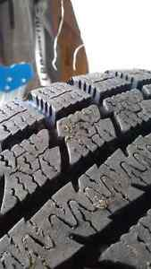 215/55/16 winter tires on steel rims A1 condition 60% tread