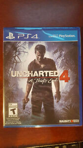 Selling Uncharted 4 Mint Condition