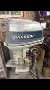 90 HP Outboard Johnson Motor