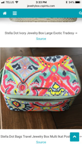 Stella & Dot Jewelry Box