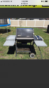 Weber bbq natural gas barbeque