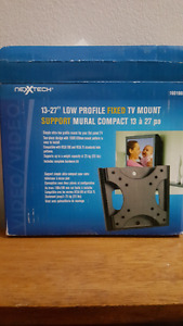 "NEXXTECH 13-27"" Fixed TV Wall Mount"