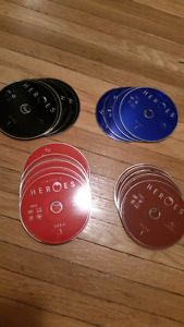 Heroes TV series seasons 1-4 COMPLETE