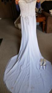 Wedding gown & Shoes. BEST OFFER
