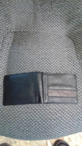 roots mens leather wallet