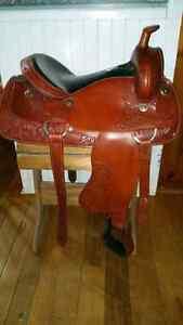 Beautiful Western saddle.