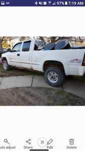 1800.00 obo as is 2002 gmc with plow
