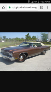Looking for a 1973 caprice classic