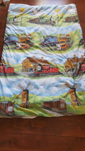 Twin Thomas The Train duvet cover, pillow case and curtains