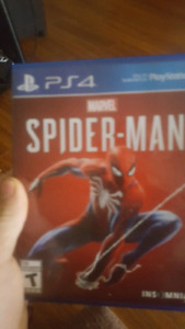 spiderman ps4 like new