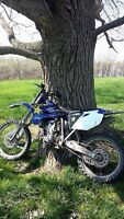 Prime yz250f (cash or trade)