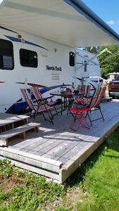 Meticulous, 2013 North Trail 31 ft Travel Trailer - 2 slides