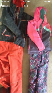 Size 12 Boys Costco Snowsuit