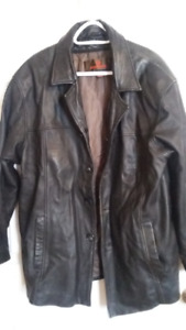 Mens Leather Darnier Jacket.