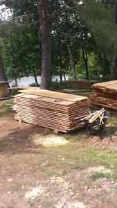 Lumber for sale and custom sawing