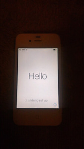 Iphone 4s 16gb (rogers) white