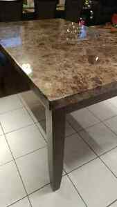 Faux marble Dining table only